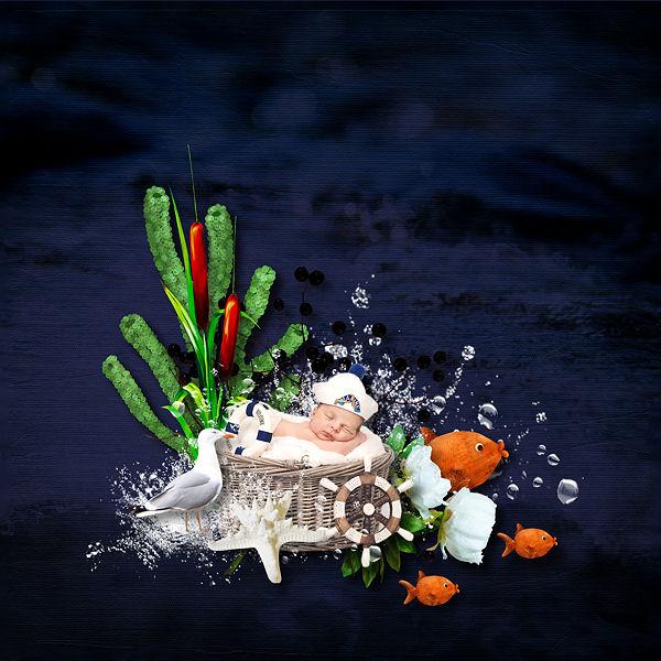 """""""Sous les tropiques"""" de Xuxper Designs"""