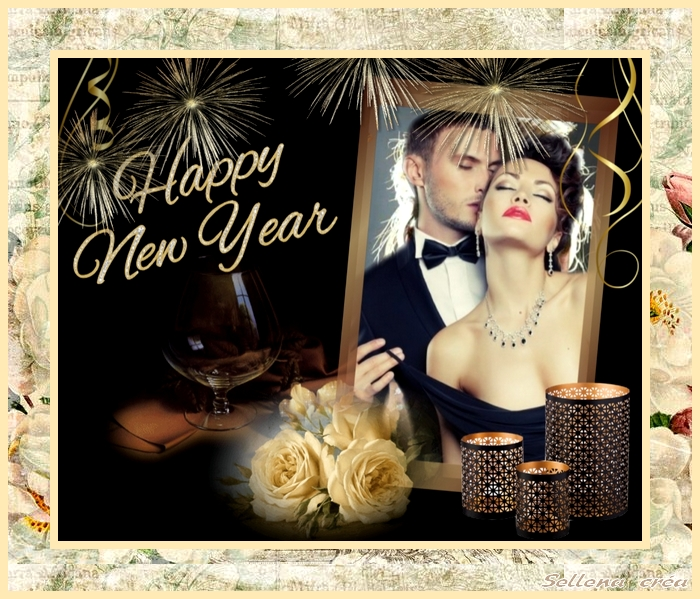 **Happy New Year**Cartes