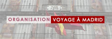 Mon voyage à Madrid #1 : l'organisation et le départ !