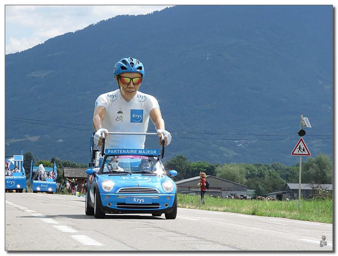 LE TOUR DE FRANCE CYCLISTE 2021