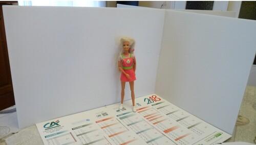 Début de la création du studio photos pour Barbie