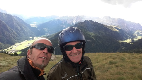 Le spectre de Brocken aux Dolomites