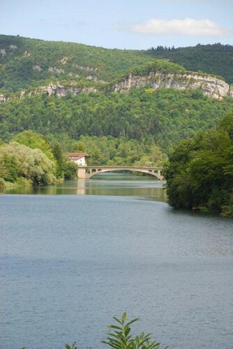 Nous voilà à nouveau au Pont de Thoirette