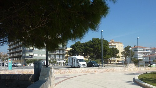 Valencia en Camping car mars 2015 L'Hospitalet de L'Infante