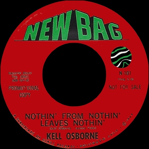 """Various Artists : CD """" The New Bag Records Story 1966-1973 """" Soul Bag Records DP 163 [ FR ]"""