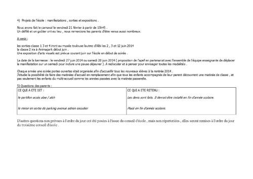 Conseil Ecole G.Fev. 2014 p5