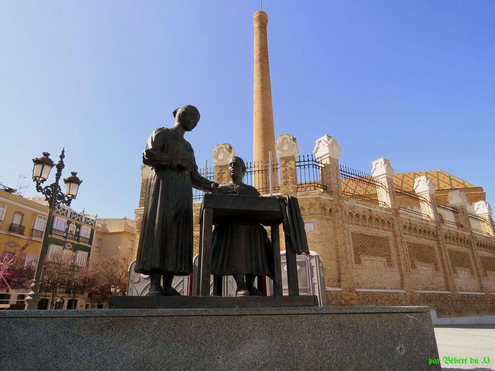 Cadix en Espagne
