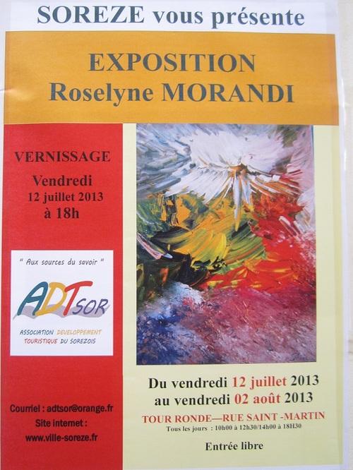 R. MORANDI EXPOSE