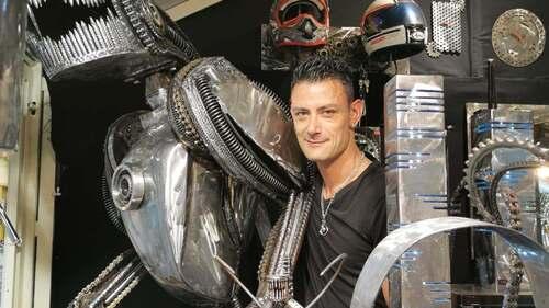 Mon article sur un sculpteur sur métal : Vito Art Métal