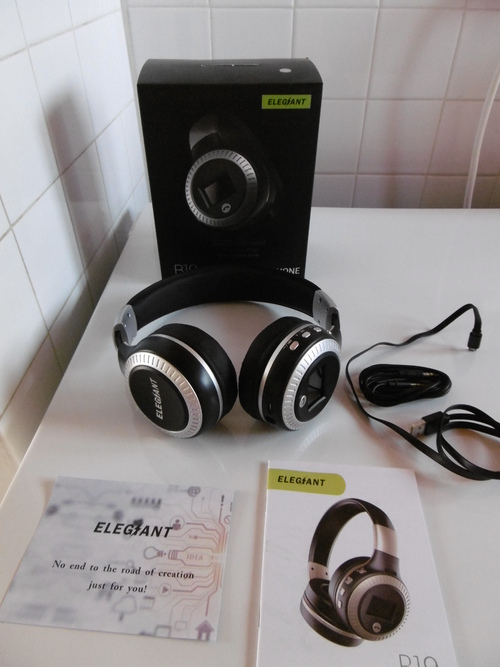 Casque Bluetooth, ELEGIANT