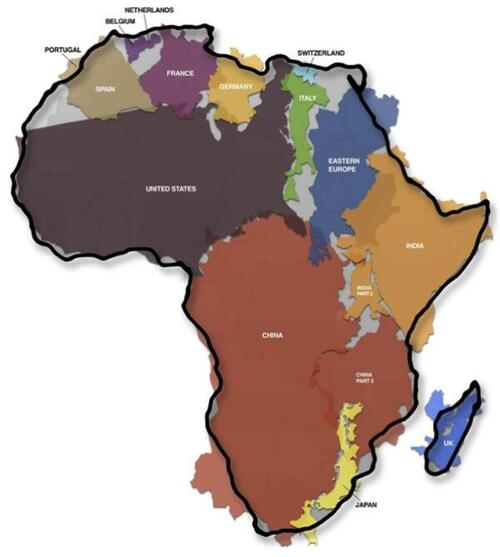La grandeur de l'Afrique