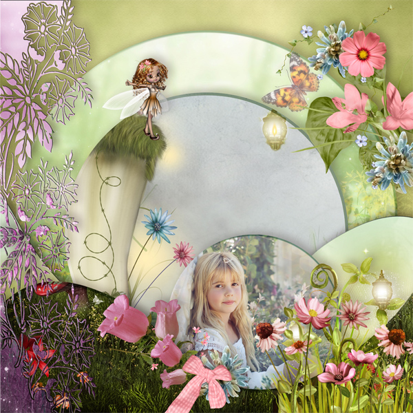 Life in fairyland de Scrap'Angie