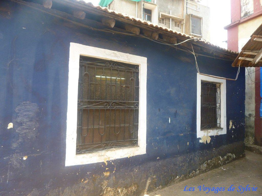 INDE NORD DE GOA - PANAJI - quartier latin de Fontainhas