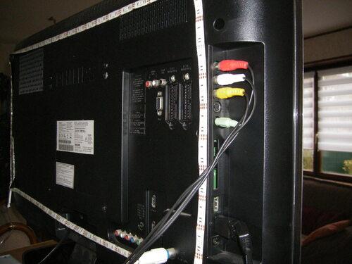Bande Lumineuse, GLISTENY LED pour rétro éclairage TV