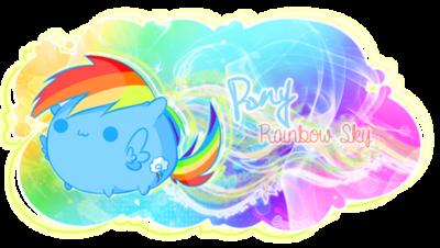 Signature Pony Rainbow