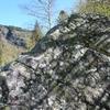 Gravure rocher de la BF 366