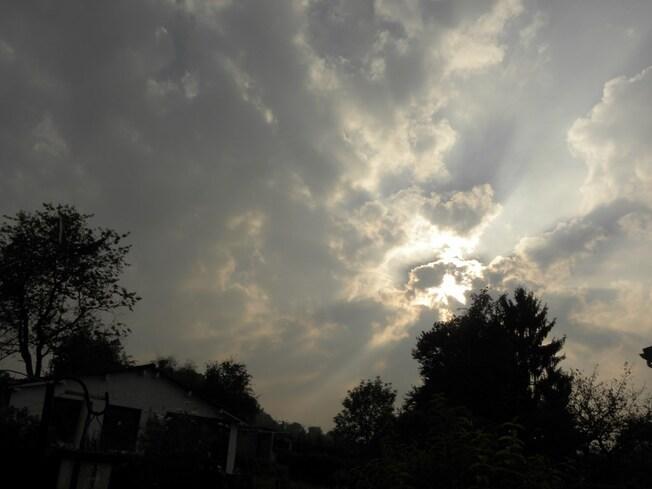 Ciel de ce lundi 8 septembre