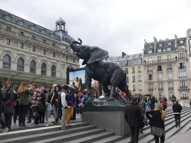 Visite au Musée d'Orsay.
