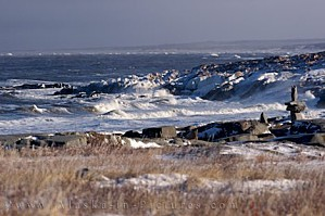 icy-hudson-bay-coastline-storm-churchill-manitoba 10752