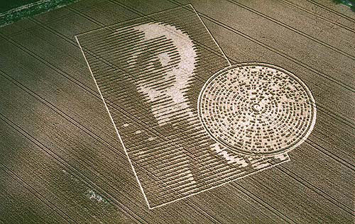 Crop circle, militaire ?