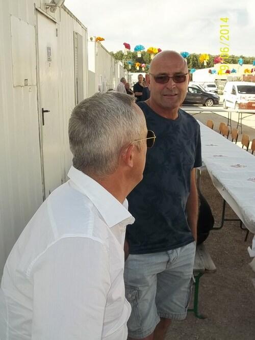 Départ Bernard et Gaetan juin 2014