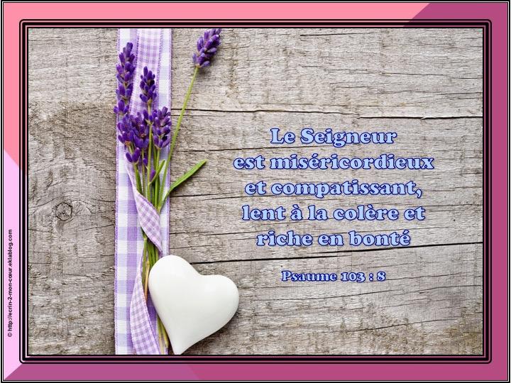 Ronde Versets du coeur 136