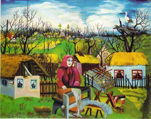 12. Tereza Posavec, première femme-peintre de Hlebine