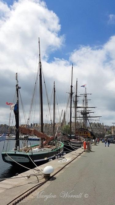Bretagne : Saint-Malo, Quai Vauban