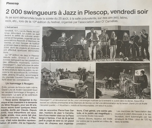Jazz' in Plescop 2017