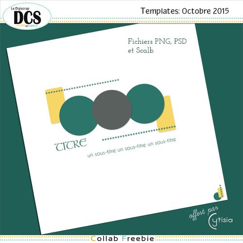 DCS: Les templates du mois d'Octobre