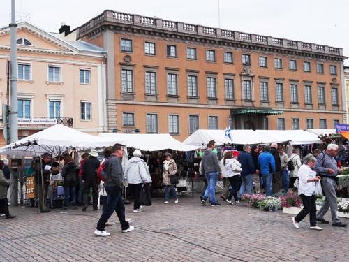 Helsinki en Finlande: autour de la place du Marçé (photos)