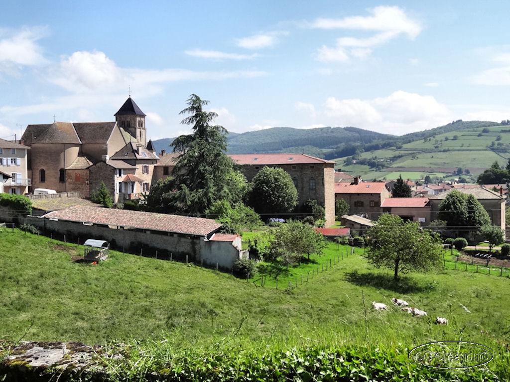 Un bout de la route Lamartine en Bourgogne ...