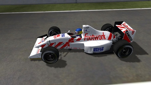 Arrows Footwork A11B - Ford Cosworth DFR 3.5 V8