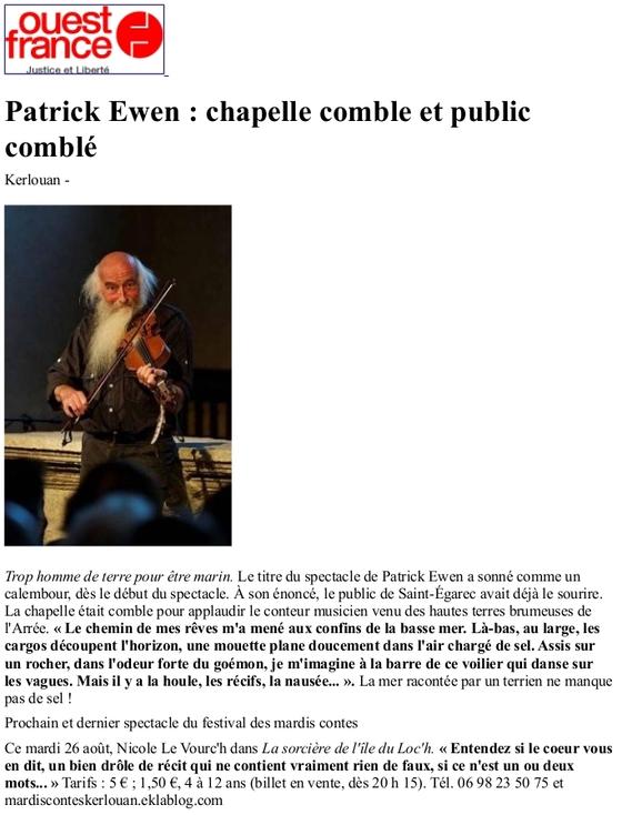 19 08 2014 Patrik EWEN