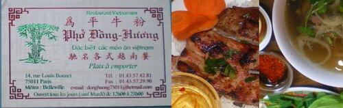 Vietnamien simple et bon : le Dong Huong
