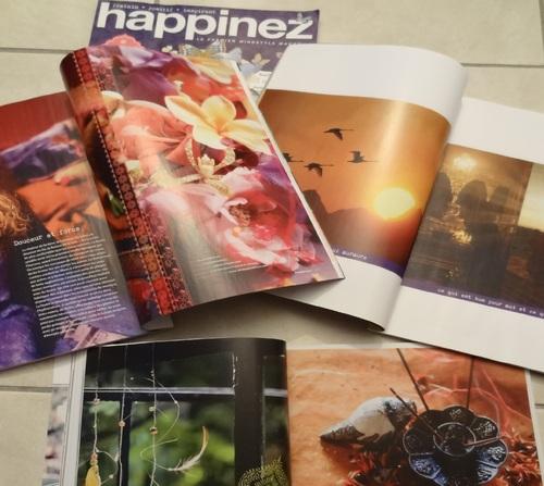 Happinez, un magazine pour voir la vie en couleurs