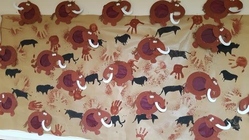 Notre fresque de la prehistoire