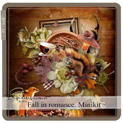Fall in Romance Mini Kit (PU/S4H) by Xuxper Designs