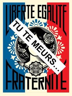Liberté, Egalité, Fraternité tu te meurs.....