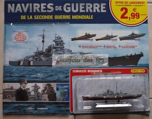 N° 1 Navires de guerre de la seconde Guerre Mondiale - Test