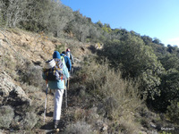 sentier allant vers Santa Magarita de Nabilles