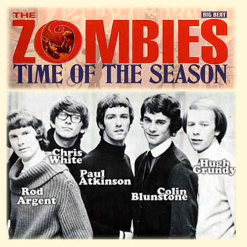 ZOMBIES - Time of the Season  (Hits 1960-1979)