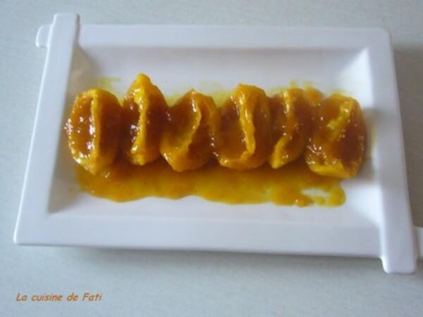 Citrons confits au Curcuma