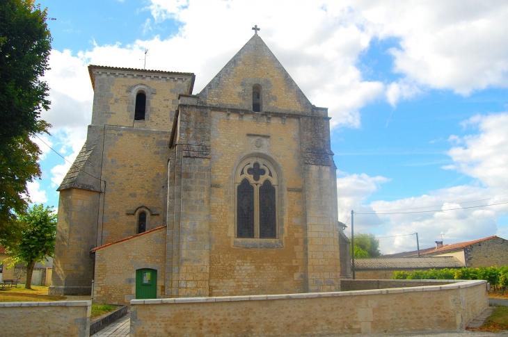 Eglise Saint  Vivien - Angeac-Champagne