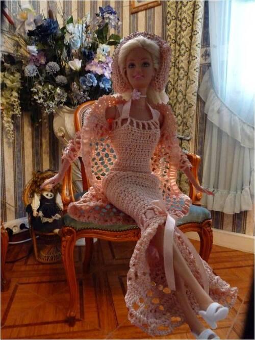 Mes créations pour Barbie ( 5 )