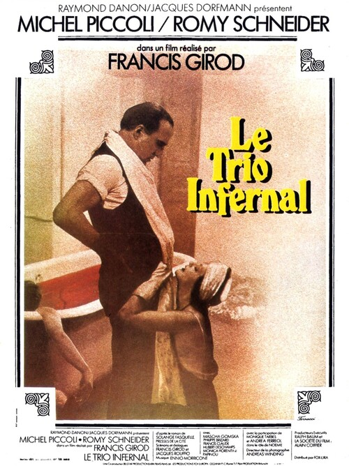 LE TRIO INFERNAL - BOX OFFICE ROMY SCHNEIDER 1974