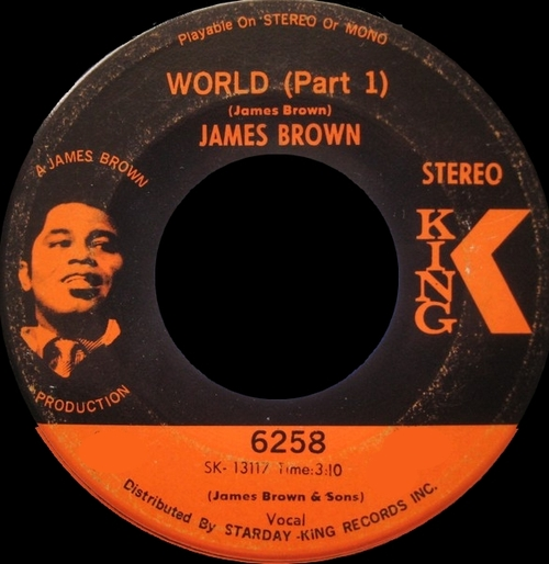 James Brown : Single SP King Records 45-6258 [ US ]