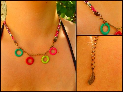 Un peu de couleur dans les bracelets et les colliers