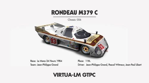 Team Jean-Philippe Grand Rondeau M379C