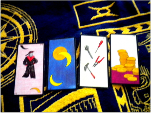 Arts divinatoires ++